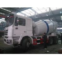 Buy cheap SHACMAN 10m3 concrete mixing truck from wholesalers