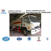 China Factory sale lower price SINO TRUK HOWO 10,000Liters oil tank truck, HOT SALE! HOWO 4*2 LHD fuel dispensing truck on sale