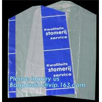 Buy cheap Disposable Thin Garment Protection Dry Cleaning Bags 100cm long,reusable dry cleaning cheer satin washable garment stora from wholesalers