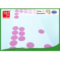 Buy cheap 25mm dia adhesive based Custom Hook and Loop Patches rounded dots for small toy from wholesalers
