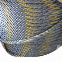 Buy cheap Bright Steel Wire Rope with Wooden Spool from wholesalers