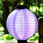 Buy cheap 5 Lumens Solar fabric Lantern / Solar Powered Fabric Lanterns For Garden / Patio from wholesalers