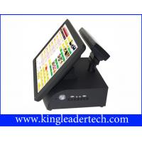 Buy cheap All In One Red POS / Cash Register Touch Terminal For Dining And Pizzeria from wholesalers