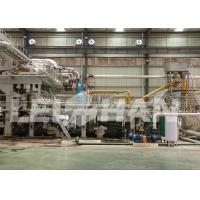 China Custom Dimension Toilet Roll Manufacturing Machine 380V Voltage 1092mm Net Paper Width on sale