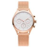 Buy cheap Gold Watch White Face Womens , Big Dial Wrist Watches For Ladies from wholesalers