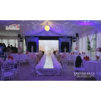 500 people transparent wedding marquee tent outside event for Decoration cost per m2