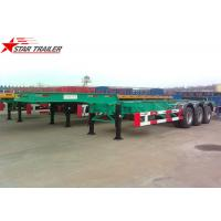 Buy cheap 40 Feet Gooseneck Extendable Chassis With Three Axles For Semi Trailer from wholesalers