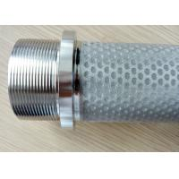 Buy cheap Dust collector SS sintered cloth filter cartridge filter elements from wholesalers