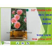 Buy cheap Customizable Touch Screen LCD Display 3.2 For Digital Media Player from wholesalers