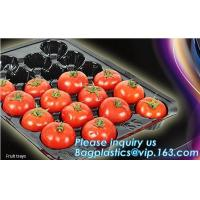 Buy cheap plastic plant vegetable nursery high quality seedling trays wholesale,98/105/128 cell holes vegetable plant seedling pla from wholesalers