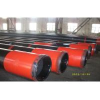 Buy cheap OCTG API J55 Oil Casing Pipe With Black Painting 5m - 12m Heat Extrusion from wholesalers