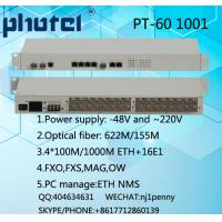Buy cheap 1+1 fiber path PDH SDH transmission network e1 pdh multiplexer from wholesalers
