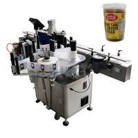 Buy cheap Round Bottle Labeling Machine , bottling and labeling machine for bround suger jar from wholesalers