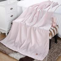 Buy cheap Woven knitted cotton blanket, weighs from 320 to 390gsm product