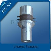 600W 20 KHZ Ultrasonic Transducer , Piezoelectric Transducer Ultrasound