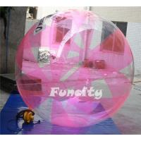 Buy cheap Pink Color Inflatable Water Walking Ball 0.8MM TPU for Water Pool or sea water games from wholesalers