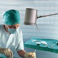 Buy cheap a LED Outstanding Qualified Minor Surgical Lamp Ks-Q7 Rail Clamp Type from wholesalers