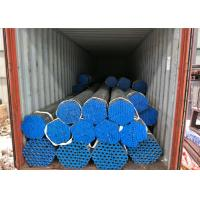 Buy cheap Square Round Steel Galvanised Pipe , Hot Dipped Galvanized Pipe 250-300g / ㎡ Zinc Coating from wholesalers