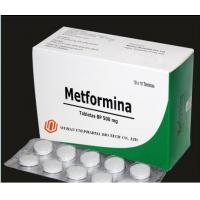 Buy cheap Type 2 Diabetes Treatment Metformin 500 Mg Tablet , Colorful Drug Pills Oral Medication For Diabetes from wholesalers