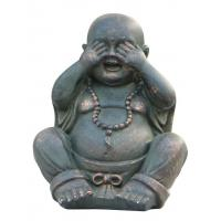 Buy cheap Fiber And Resin Lucky Laughing Indoor Buddha Water Fountain Customized from wholesalers