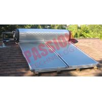 High Efficient Flat Plate Solar Water Heater For Home OEM / ODM Available