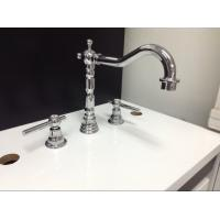Buy cheap Three Holes Installation Kitchen Tap Faucets Made of Low - Lead Brass from Wholesalers