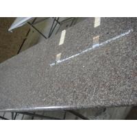 Brown Solid Granite Worktops High Strength Natural Granite Raw Material