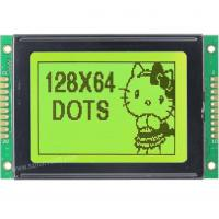 Buy cheap M12864K-Y5, 12864 Graphics LCD Module, 128 x 64 Display, STN yellow green, transflective/p from wholesalers