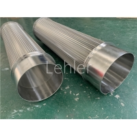 Buy cheap 100 Micron Wedge Wire Filter Elements For Self Cleaning Strainer product