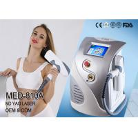 Buy cheap 1064 ND YAG 532 KTP Q-Switched ND YAG Laser Tattoo Removal Machine Pigmentation Removal from wholesalers