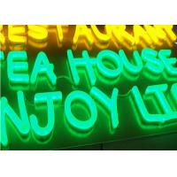 Buy cheap Acrylic Retro LED Neon Signs Letters , Bright Neon Business Signs Low Power Consumption from wholesalers
