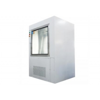Buy cheap Pre-Fliter And Hepa Filter Cleanroom Stainless Steel Pass Box With Air Shower Nuzzles product