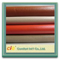 Buy cheap Plain Perforated PU Synthetic Leather , 1.0mm Sofa Upholstery Fabric product