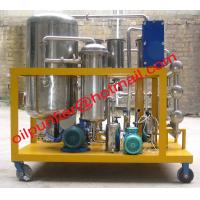 Buy cheap Hydraulic Oil Recycling Machine, Hydraulic Oil Regeneration Plant,oil purifier Stainless Steel plate heat exchanger from wholesalers