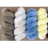 Buy cheap Lambskin Long Wool Sheepskin Steering Wheel Cover For Car Interior Accessories from wholesalers