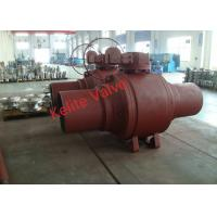 Buy cheap Fire Safety Welded Body Ball Valve Forging Material Extended Bonnet product