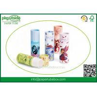 Buy cheap High End Paper Lip Balm Tubes Durable , Elegant Design Paper Chapstick Tubes product