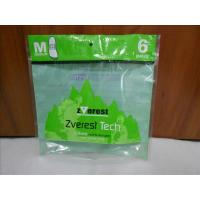 Buy cheap Green Stand Up Vacuum Sealed Bags For Food With Zipper / Window from wholesalers