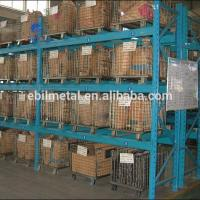 Buy cheap Foldable Metal Wire Mesh Decks Pallet Rack  Warehouse Storage  500 - 1000mm Depth from wholesalers