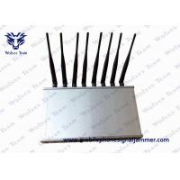 Quality 12 Band Desktop Phone Signal Blocker Jammer Compatible With ICNIRP Standards for sale