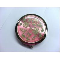 Buy cheap Custom Shaped Pocket Make Up Mirrorr For Travel , Eco Friendly Vintage Compact Mirror from wholesalers