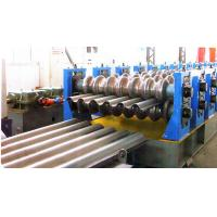 Buy cheap Bunkers Corrugated Sheet Roll Forming Machine For Drainage Channels from wholesalers