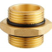 Buy cheap Brass BSPP BSPT Double Ended Male Hose Connector from wholesalers