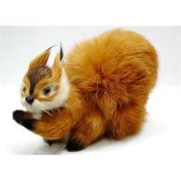 China Synthetic furry animal,synthetic furry animal figurine on sale