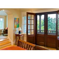 Buy cheap House Main Solid Wood Doors EPE Inside Durable Frame With Front Grill Designs from wholesalers