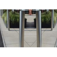 Buy cheap Warning Role Safety Bollards Barriers , Strong Durable Reflector Pop Up Bollards from wholesalers