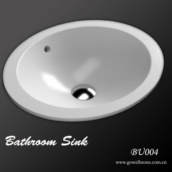 acrylic bathroom sink of gowellstone