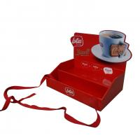 Buy cheap Red color small size pop up cardboard counter display for biscuit promotion from wholesalers