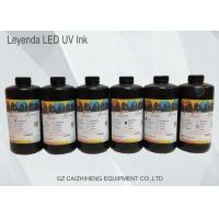 China Vivid Shiny UV Inkjet Ink Fast Curing For Konica 512 / 1024 Printhead on sale