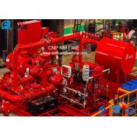 Buy cheap Skid Mounted Fire Fighting Pump Set 500GPM / 165PSI For Oil Repositories from wholesalers